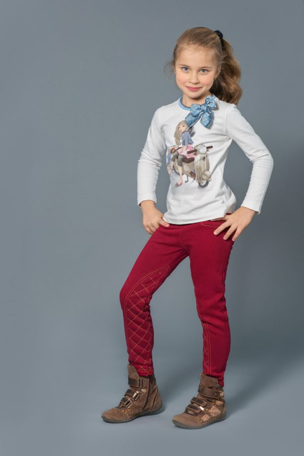 купить стильные брюки скинни для девочки