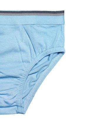 трусики для мальчика голубые с широкой резинкой