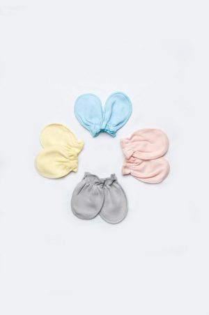 рукавички для новорожденных царапки хлопок купить недорого