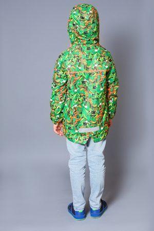 яркая зимняя куртка для мальчика купить Киев