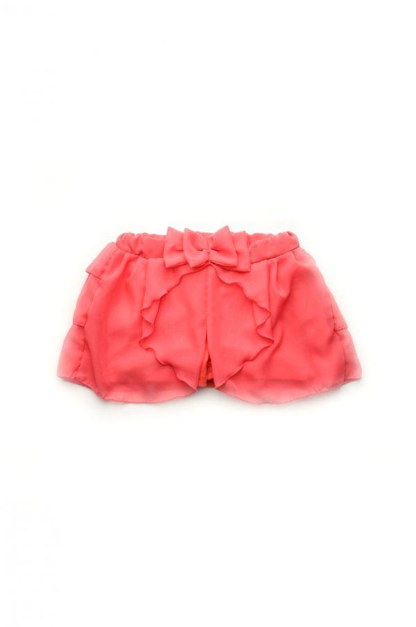 детская юбка шорты с шифоном недорого
