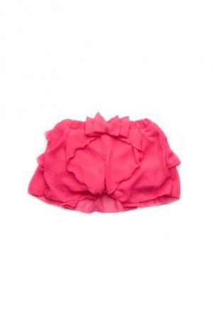 удобная юбка шорты с шифоном купить для девочки