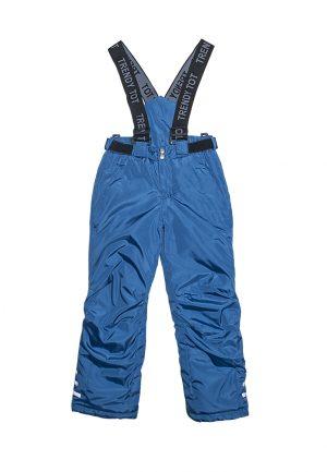 теплые брюки на подтяжках зима для мальчика