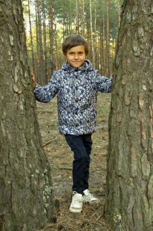куртка трансформер демисезонная для мальчика