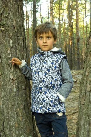 куртка жилет для мальчика купить с доставкой