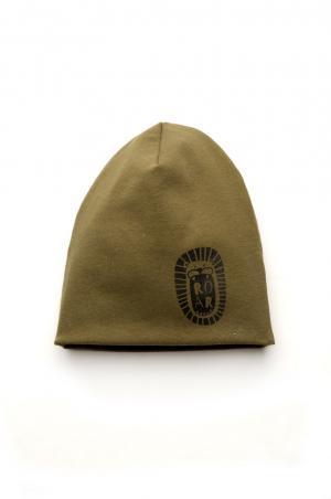 демисезонная шапка для мальчика цвет хаки Днепр