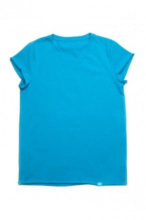 модельная футболка женская однотонная