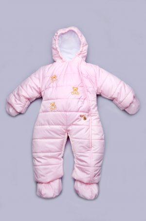 зимний комбинезон для новорожденной девочки купить Киев