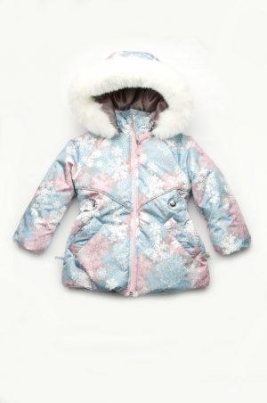 зимняя куртка снежинки купить недорого