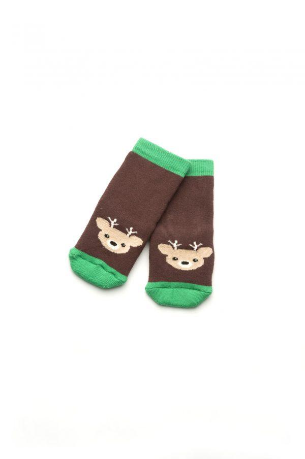 махровые носочки коричневые недорого