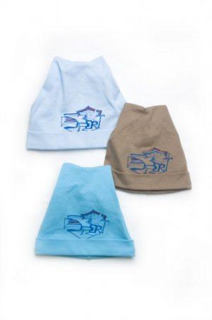 трикотажные шапочки с отворотом для мальчиков недорого