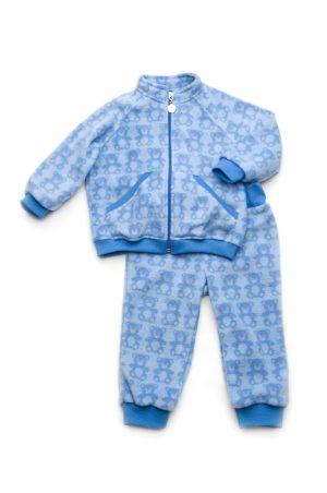 флисовый костюм голубой мишки для мальчика купить