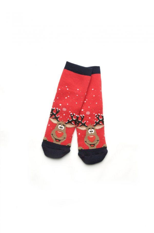 махровые носки с принтом олень купить