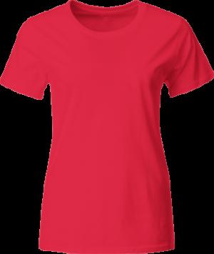 яркая женская футболка для нанесения логотипа
