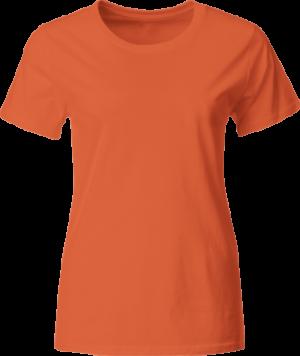 женская футболка оранжевая недорого Киев