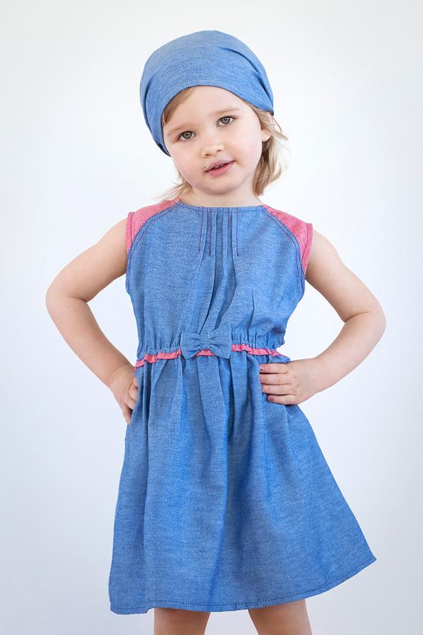 джинсовое детское платье купить недорого
