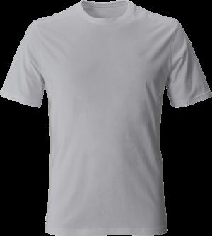 серая мужская футболка без рисунка