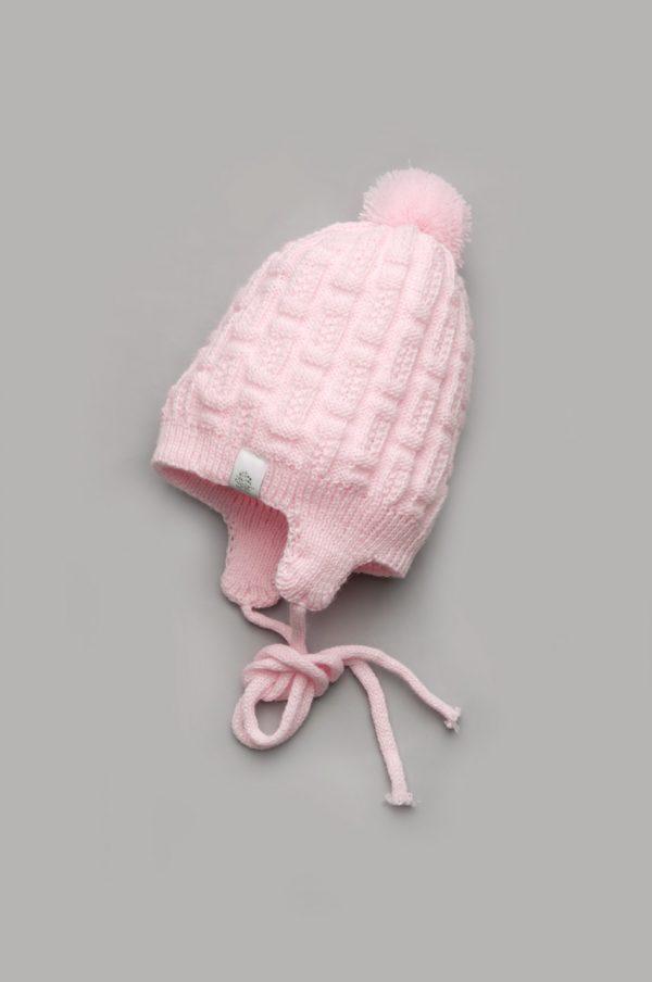 шапка демисезонная для новорожденной купить Украина