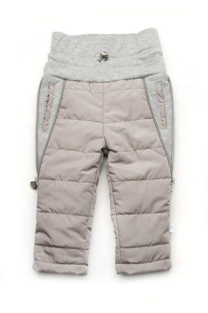 серые штанишки деми для малышей купить с доставкой