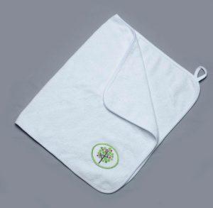 купить брендированое полотенце для рук махра Киев
