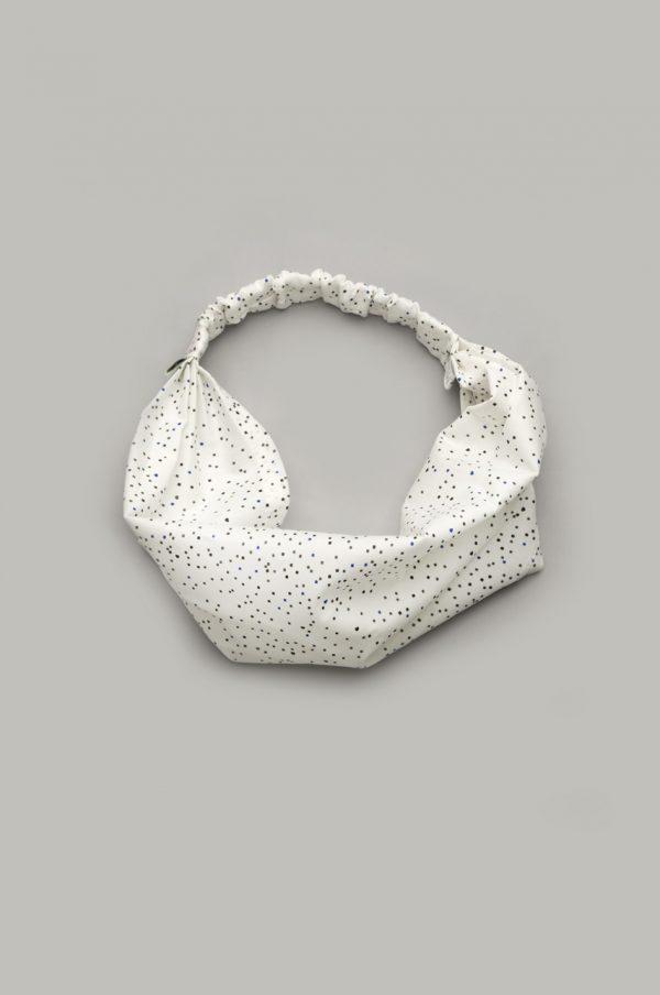 детская повязка на голову в мелкий горошек купить от производителя