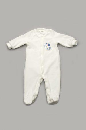 велюровый комбинезон с длинными рукавами для новорожденных недорого
