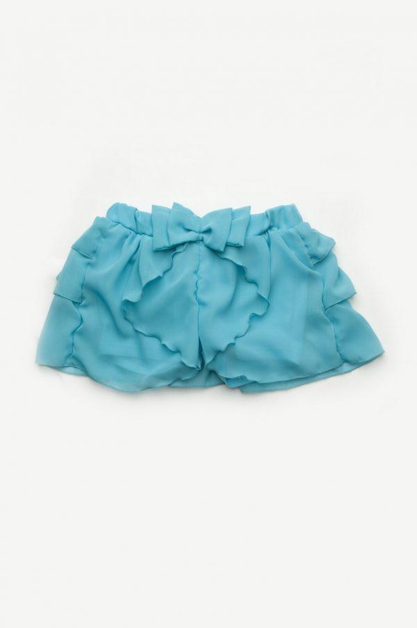 легкая юбка шорты из шифона для девочки от производителя