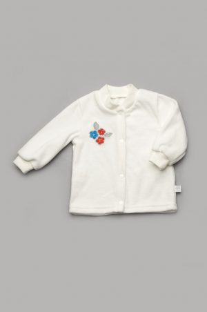 кофточка велюровая для новорожденной купить недорого