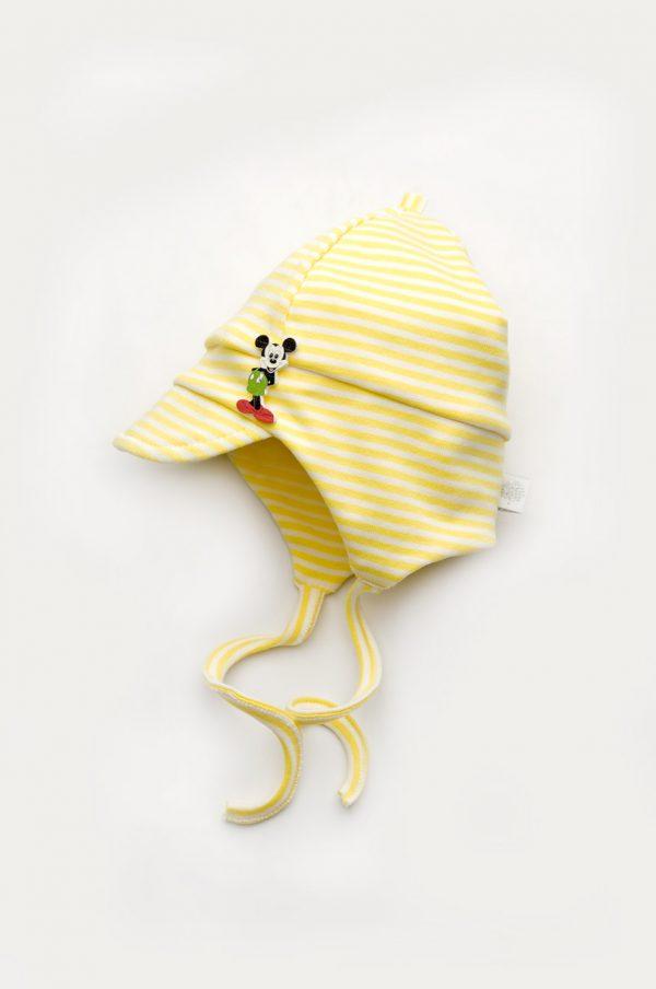 яркая шапка с козырьком на завязках для мальчика Днепр