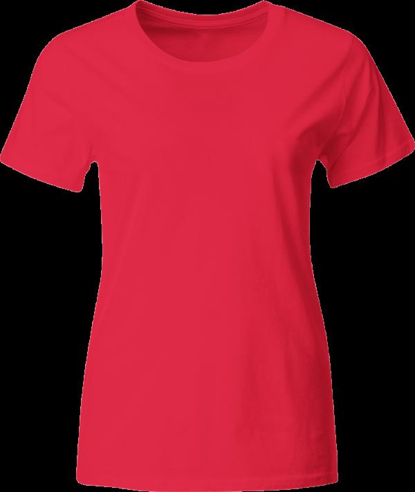 женская футболка красная купить с доставкой