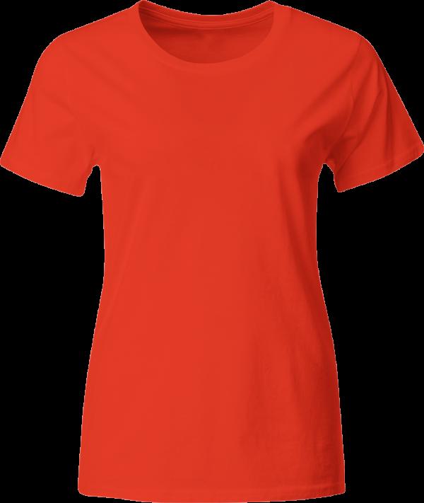 яркая женская футболка однотонная Украина