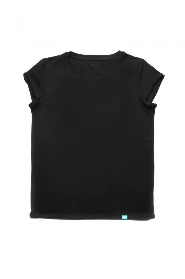 футболка черная женская модельная недорого с доставкой