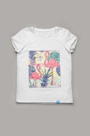 недорогая футболка для девочки с пайетками купить
