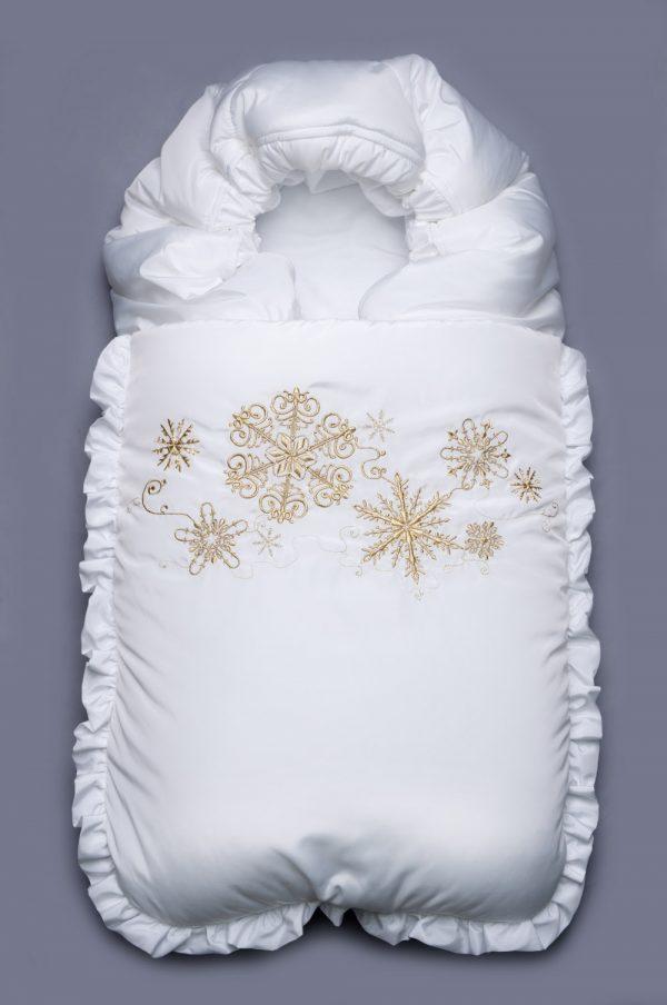 зимний нарядный конверт для новорожденных недорого