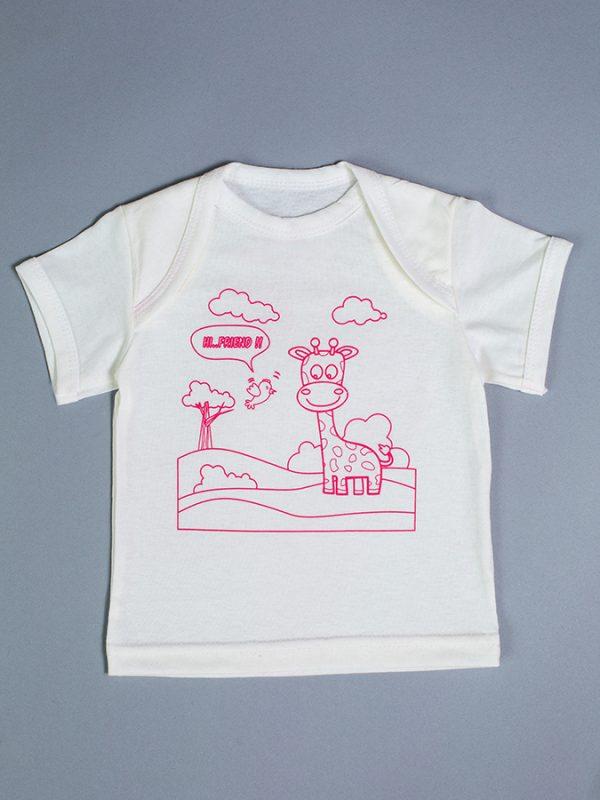 футболка для новорожденной недорого с доставкой