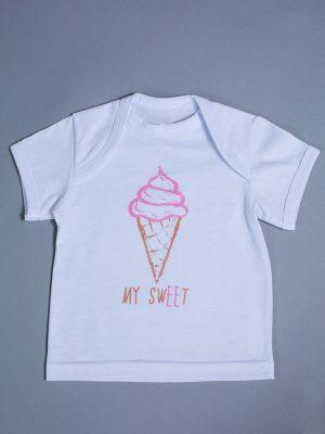 недорогая футболка для новорожденной купить Харьков