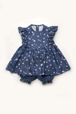 купить комплект платье шортики для девочки