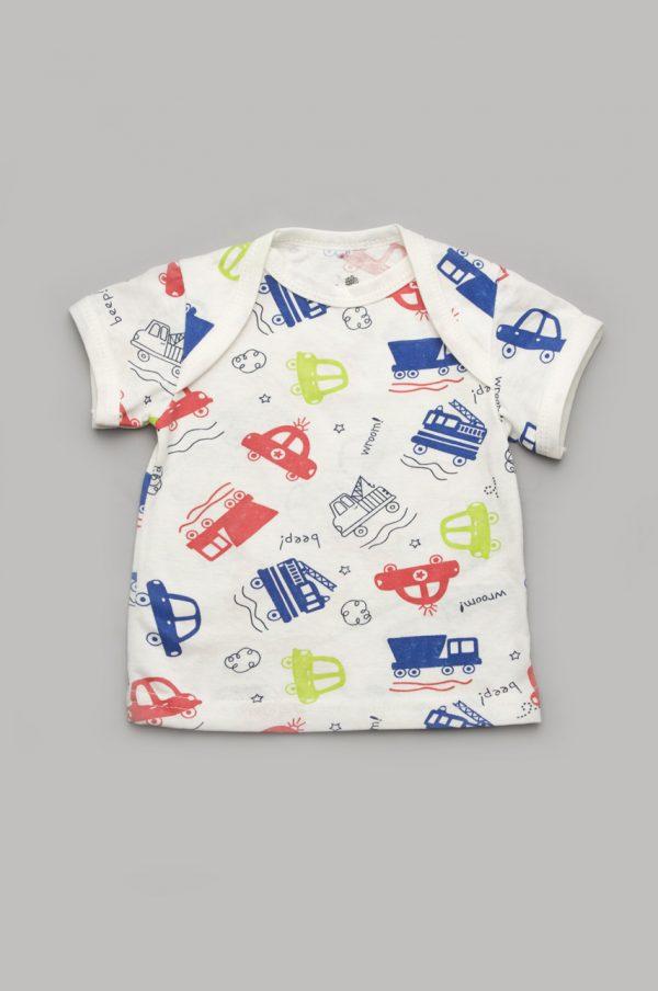 футболка для мальчика машинки купить недорого