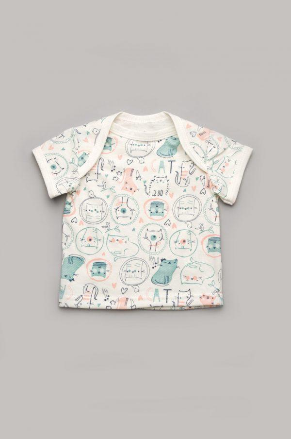 футболка для новорожденных 100% хлопок купить с доставкой