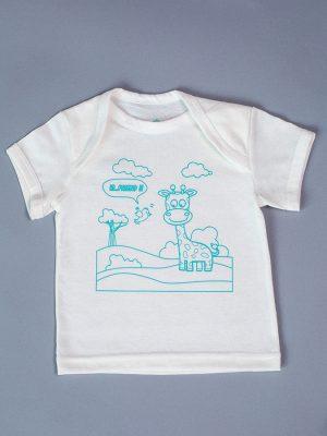 качественная футболка для новорожденного мальчика купить с доставкой