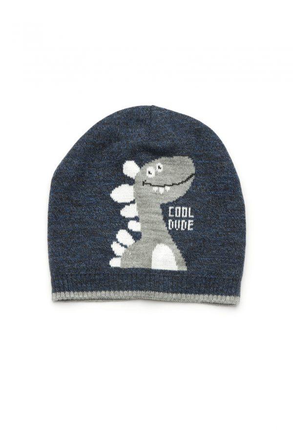 шапка деми трикотажная для мальчика недорого