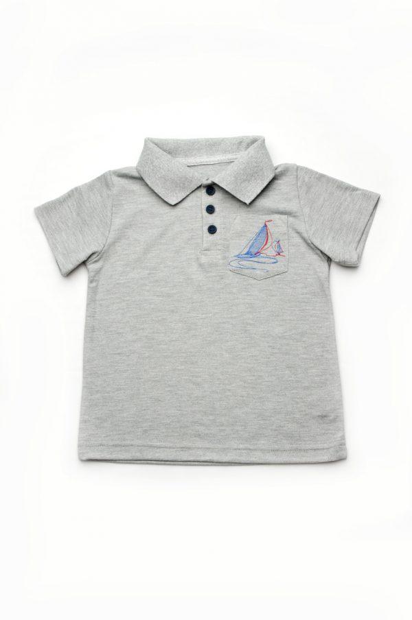 футболка поло с рубашечным воротником недорого