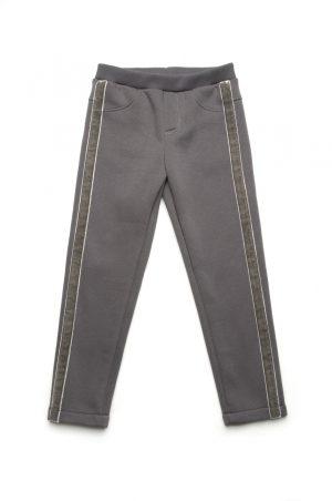 модные зимние скинни брюки для девочки