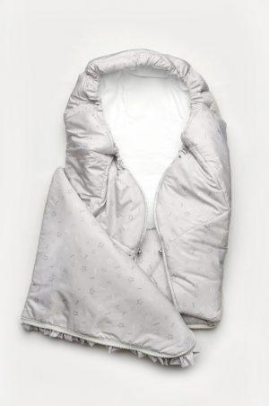 конверт одеяло зимний для новорожденного