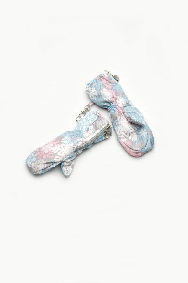 зимние рукавицы краги для девочки недорого