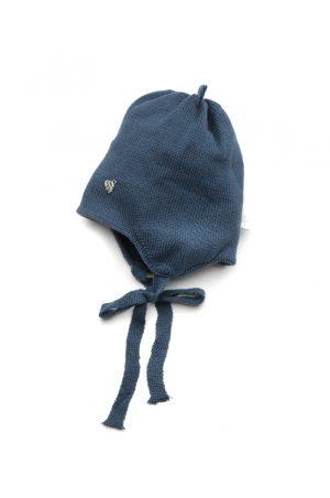 шапка на завязках весна осень для мальчика