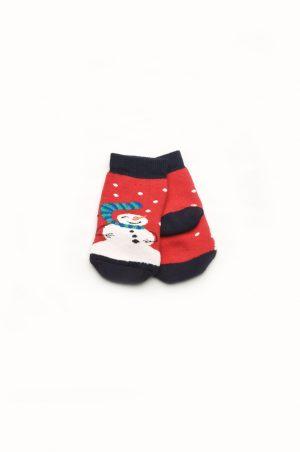 махровые носки с новогодней тематикой купить Харьков
