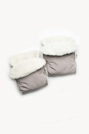 рукавички муфта на овчине на коляску купить Киев