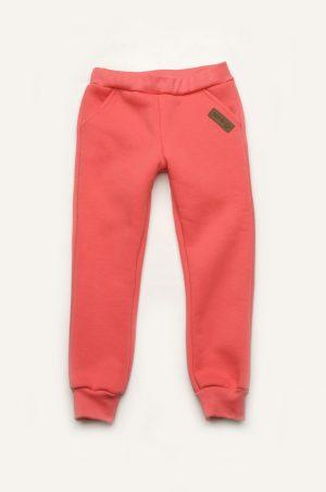 брюки с начёсом для девочки в спортивном стиле недорого