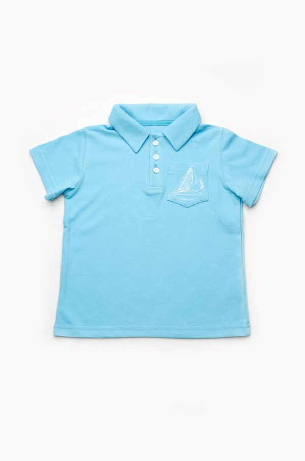 футболка поло для мальчика недорого